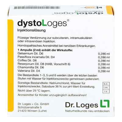 Dysto Loges Injektionslösung Ampullen  bei apo-discounter.de bestellen