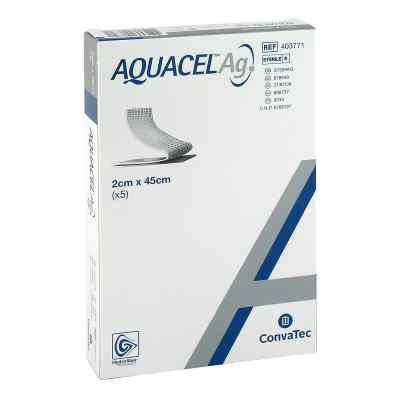Aquacel Ag 2x45 cm Tamponaden  bei apo-discounter.de bestellen
