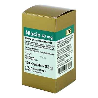 Niacin 40 mg pro Kapsel  bei apo-discounter.de bestellen