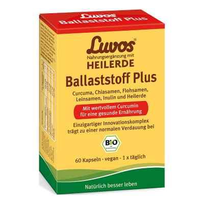 Luvos Heilerde Bio Ballaststoff Plus Kapseln  bei apo-discounter.de bestellen