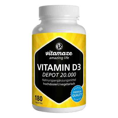 Vitamaze VITAMIN D3 20.000 internationale Einheiten Depot hochdo  bei apo-discounter.de bestellen