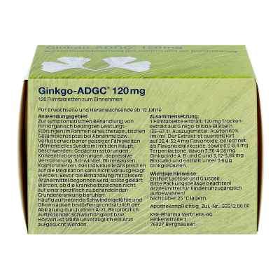 Ginkgo Adgc 120 mg Filmtabletten  bei apo-discounter.de bestellen