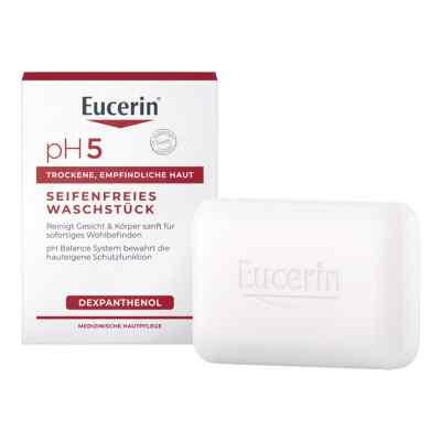 Eucerin pH5 seifenfreies Waschstück empfindl.Haut  bei apo-discounter.de bestellen