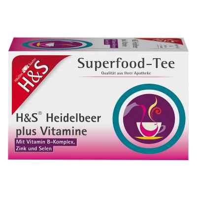 H&s Heidelbeer plus Vitamine Filterbeutel  bei apo-discounter.de bestellen