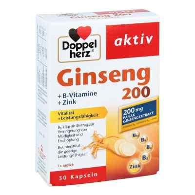 Doppelherz Ginseng 200+b-vitamine+zink Kapseln  bei apo-discounter.de bestellen