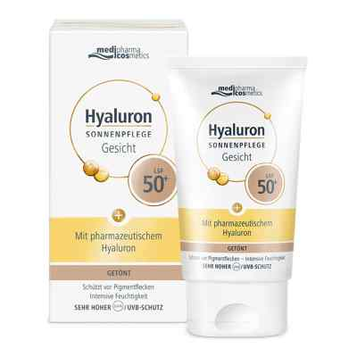 Hyaluron Sonnenpflege Gesicht Lsf 50+ getönt  bei apo-discounter.de bestellen