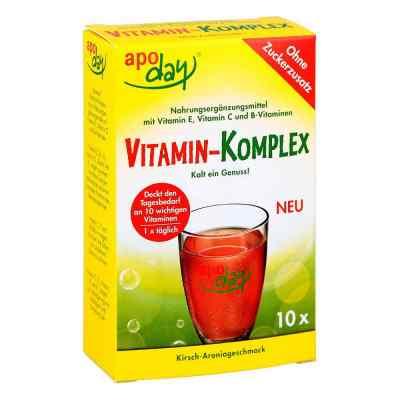 Apoday Vitamin-komplex Kirsch-aronia zuckerfr.Plv.  bei apo-discounter.de bestellen