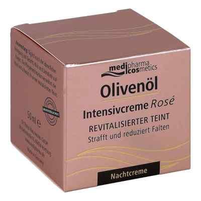 Olivenöl Intensivcreme Rose Nachtcreme  bei apo-discounter.de bestellen