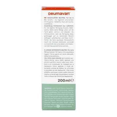 Deumavan Waschlotion sensitiv neutral  bei apo-discounter.de bestellen