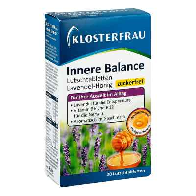 Klosterfrau Innere Balance Lut.-t.lavendel-honig  bei apo-discounter.de bestellen