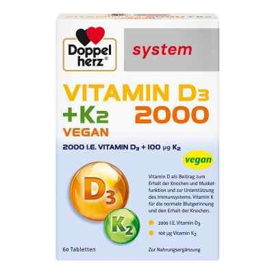 Doppelherz Vitamin D3 2000+k2 system Tabletten  bei apo-discounter.de bestellen