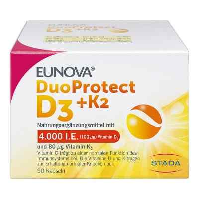 Eunova Duoprotect D3+k2 4000 I.e./80 [my]g Kapseln  bei apo-discounter.de bestellen