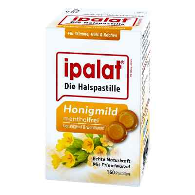 Ipalat Halspastillen honigmild ohne Menthol zuckerfr.  bei apo-discounter.de bestellen