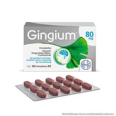 Gingium 80 mg Filmtabletten  bei apo-discounter.de bestellen