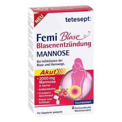 Tetesept Femi Blase Blasenentzündung Mannose Beutel  bei apo-discounter.de bestellen
