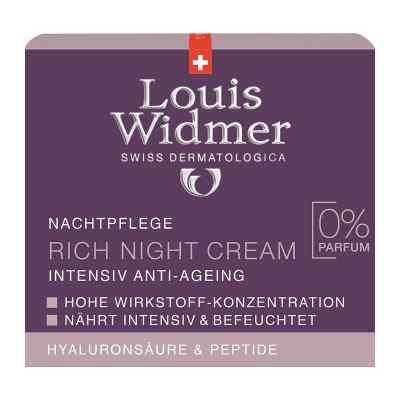 Widmer Rich Night Cream unparfümiert  bei apo-discounter.de bestellen