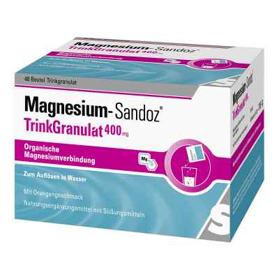 Magnesium Sandoz Trinkgranulat 400 mg Beutel  bei apo-discounter.de bestellen