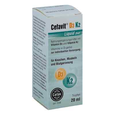 Cefavit D3 K2 Liquid pur Tropfen zum Einnehmen  bei apo-discounter.de bestellen