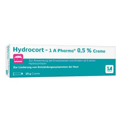 Hydrocort-1a Pharma 0,5% Creme  bei apo-discounter.de bestellen