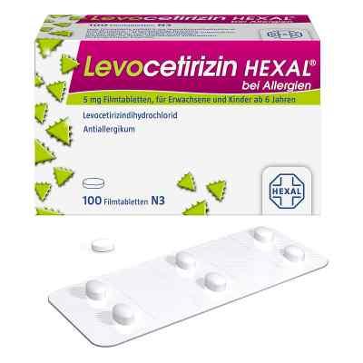 Levocetirizin Hexal bei Allergien 5 mg Filmtabletten  bei apo-discounter.de bestellen