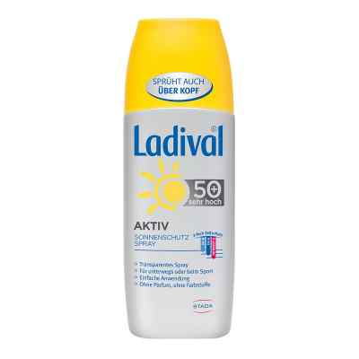 Ladival Aktiv Sonnenschutz Spray Lsf 50+  bei apo-discounter.de bestellen