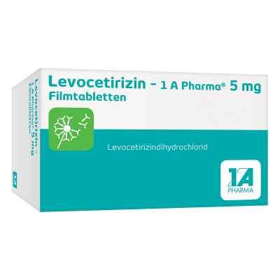 Levocetirizin-1a Pharma 5 mg Filmtabletten  bei apo-discounter.de bestellen