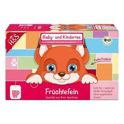 H&s Bio Baby- und Kindertee Früchtefein Filterbeutel  bei apo-discounter.de bestellen