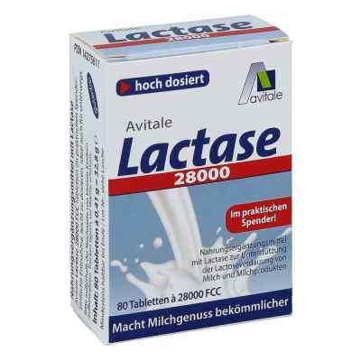 Lactase 28.000 Fcc Tabletten im Spender  bei apo-discounter.de bestellen