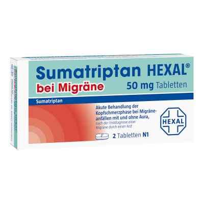Sumatriptan Hexal bei Migräne 50 mg Tabletten  bei apo-discounter.de bestellen