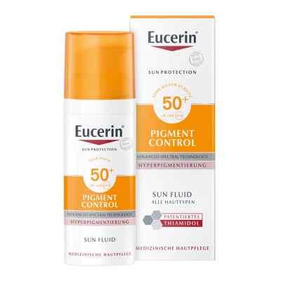 Eucerin Sun Fluid Pigment Control Lsf 50+  bei apo-discounter.de bestellen