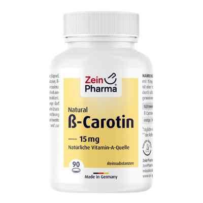 Beta Carotin Natural 15 mg Zeinpharma Weichkapseln  bei apo-discounter.de bestellen