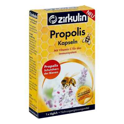 Zirkulin Propolis Kapseln mit Vitamin C  bei apo-discounter.de bestellen