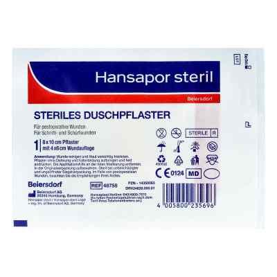 Hansapor steril Duschpflaster 8x10 cm  bei apo-discounter.de bestellen