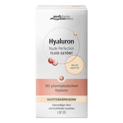 Hyaluron Nude Perfection getönt.Fluid Lsf 20 hell  bei apo-discounter.de bestellen