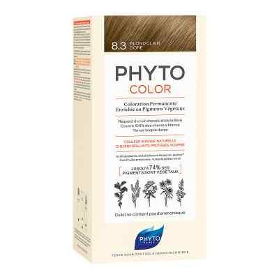 PHYTOCOLOR 8.3 HELLES GOLDBLOND Pflanzliche Haarcoloration  bei apo-discounter.de bestellen