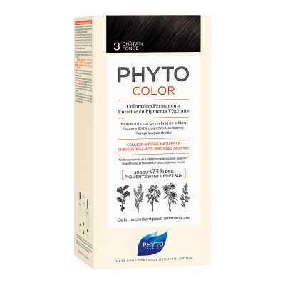 PHYTOCOLOR 3 DUNKELBRAUN Pflanzliche Haarcoloration  bei apo-discounter.de bestellen