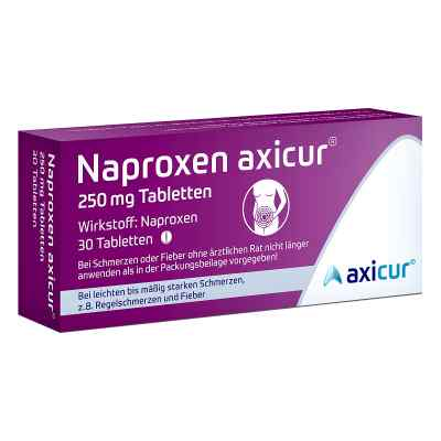 Naproxen axicur 250 mg Tabletten  bei apo-discounter.de bestellen