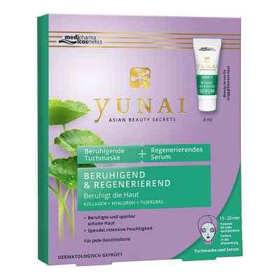 Yunai beruhigende Tuchmaske 25g+regener.serum 4ml  bei apo-discounter.de bestellen