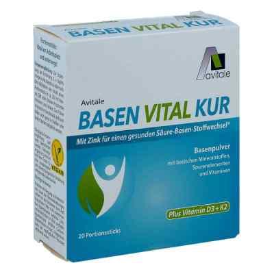 Basen Vital Kur+vitamin D3+k2 Pulver  bei apo-discounter.de bestellen