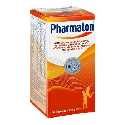 Pharmaton Kapseln Nahrungsergänzungsmittel  bei apo-discounter.de bestellen