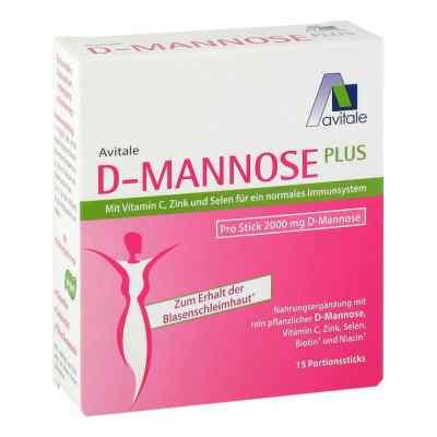 D-Mannose Plus 2000 mg mit Vitamine und Mineralstoffe Sticks  bei apo-discounter.de bestellen