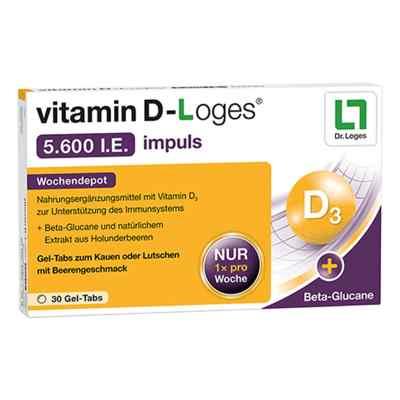 Vitamin D-loges 5.600 I.e. impuls Gel-Tabs  bei apo-discounter.de bestellen