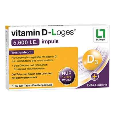 Vitamin D-loges 5.600 I.e. impuls Kautabletten  bei apo-discounter.de bestellen