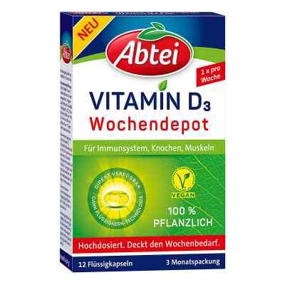 Abtei Vitamin D3 2.800 I.e. pflanzlich Kapseln  bei apo-discounter.de bestellen