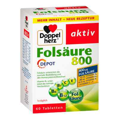 Doppelherz Folsäure 800 Depot Tabletten  bei apo-discounter.de bestellen