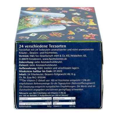 H&s Adventskalender Teezeit Filterbeutel  bei apo-discounter.de bestellen
