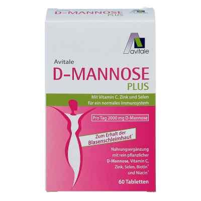 D-Mannose Plus 2000 mg Tabletten mit Vitamine und Mineralstoffe  bei apo-discounter.de bestellen