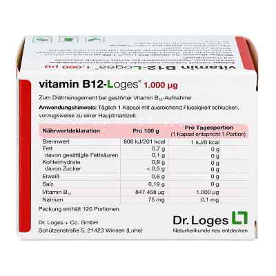 Vitamin B12-loges 1.000 [my]g Kapseln  bei apo-discounter.de bestellen