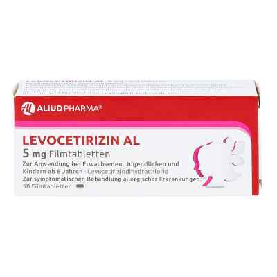 Levocetirizin Al 5 mg Filmtabletten  bei apo-discounter.de bestellen