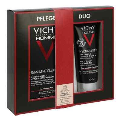 Vichy Homme Sensi Mineralbalm & Duschgel Geschenk-Set  bei apo-discounter.de bestellen